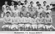 SQUADRA di calcio Blackpool foto > 1970-71 Stagione