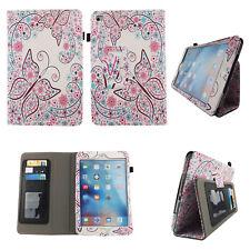 Apple iPad Mini 4 Case Slim PU Leather Folio Stand Book Style ID Slots Cover