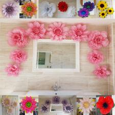 princess theme party pom pom paper flower wall tissue pink decorations birthday