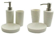 3 Piece Bathroom Accessory Set (Soap Dish, Lotion Dispenser, Tumbler)