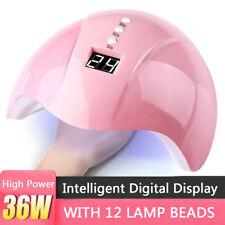 Professional 36W LED UV Nail Polish Dryer Lamp Gel Acrylic Curing Light Spa Kits