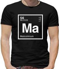 Malcolm x grunge design tee-shirt homme-noir pathers droits civils