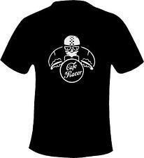 Cafe Racer Biker/Rocker Printed T Shirt in 6 Sizes