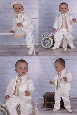 (Nr.0A019) Kinderanzug Taufanzug Festanzug Babyanzug Anzug Taufgewand Neu