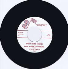 HANK MOORE - KNOCK KNEED ROOSTER - KILLER 1959 ROCKABILLY JIVER - REPRO
