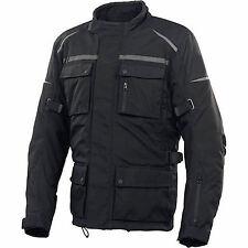Men's Protective Armour Paded Long Motorbike Motorcycle Waterproof Jacket