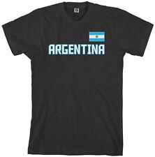 Threadrock Men's Argentina National Team T-shirt buenos aires