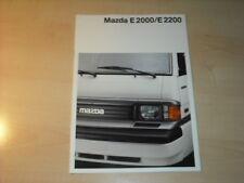 27472) Mazda E 2000 E 2200 Prospekt 1988