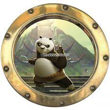 Sticker hublot enfant Kun fu Panda 9521 9521