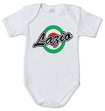 BODY tutina bimbo neonato J1445 Lazio Coppa Italia Vintage Ultras 100% cotone