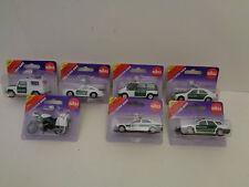 Policía-coches diferentes modelos siku serie 13 + 08
