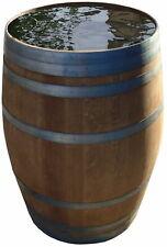 Holzfaß Regentonne Wasserfaß Eichenfaß Weinfaß Regenfaß Faß aus Holz 225 Liter