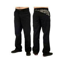 Volcom Men's Frickin Art Black Chino Pants Casual