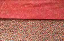Patchworkstoff (€18/m²) 0,3m Muster Paisley Edelsteine 1,1m breit