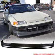 Fits 88-91 Honda CRX CS Style Front Bumper Lip Urethane