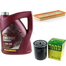 MANNOL 5 L Energy Premium 5W-30+MANN-FILTER Fiat Punto 176 1.4 GT Turbo