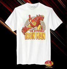 New Iron Man Swoop  Men's Retro Classic T-Shirt