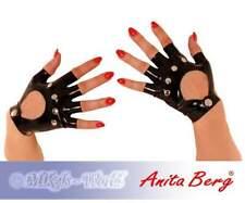 Anita Berg - Kurze fingerlose Latex Handschuhe mit Nieten in diversen Farben