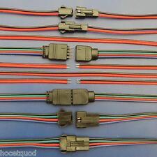 LED Anschluss Kabel Leitung Stecker Male Female 2 3 4 5 6 polig RGB Meterware