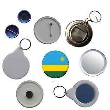 Rwanda Flag Pin Button Badge Magnet Keyring Bottle Opener Mirror