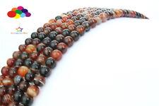 Diy 6/8/10/12mm Natural Stone dream dialogite Round beads fit Yoga bracelet