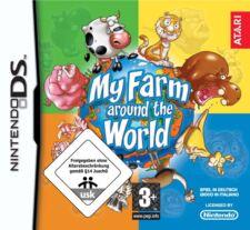 My granja around the world nuevo & OVP Atari Nintendo DS le construiré tu granja vaca ovejas