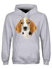 Hoodie Beagle Men's Grey