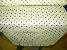 tissus beige a poids marron leger et fluide/au metre
