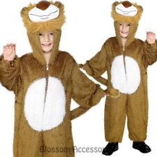CK774 Lion Jumpsuit Book Week World Boys Girls Child Fancy Animal Costume