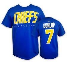 Charlestown Chiefs Reggie Dunlop Slapshot T-Shirt! Slap Shot Movie Shirt Coach