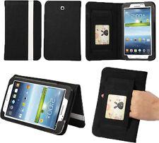 "Samsung Galaxy Tab 3 8"" Book-Style Portfolio Case - Black / Pink"