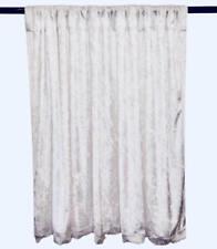 PANNE VELVET White Crush Velour Curtain Drape Panel Back Drop Made in the USA