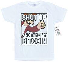 Cállate y Bitcoin Camiseta Diseño