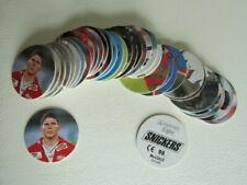 Panini ~ Snickers Football Caps Euro 96  Variants (ef4)