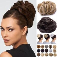 45g Thicker Hair Scrunchies Messy Bun Hairpiece Premium Scrunchy Hair Extensions