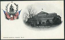PMC - Washington Souvenir Co. No. 9 U S Pension Office  DC   P764s