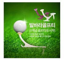 Step On Balala (발바라) Golf Tees, Pearl Purple Color and 3 Size