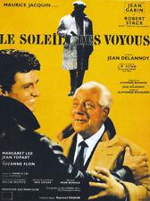 Le soleil des voyous Jean Gabin French movie poster