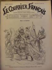 LE COURRIER FRANCAIS 1901 N 9 DESSIN DE WILLETTE