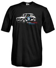 T-shirt Mini L04 Maglia Cotone Auto Storiche Asi British Cool London Cooper