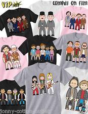 Vipwees Bambini T-Shirt COMMEDIA MOVIE ispirato caricature scegli il design