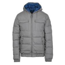 Bench Winter Jacket Men's Grey Schoolboy Jacket Sporty bomber jacket