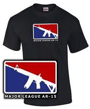 Major League ar-15 long gun Army Soldier SNIPER SOLDATO FUCILE m16 Fun T-shirt