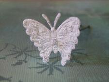 Accessoire Pic Epingle pince barrette cheveux  Mariée/Mariage Papillon dentelle