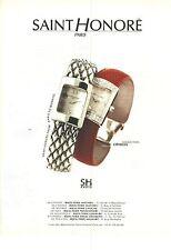 PUBLICITE ADVERTISING  1999   SAINT HONORE montre collection OPHELIA