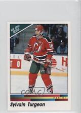 1990-91 Panini Album Stickers #71 Sylvain Turgeon New Jersey Devils Hockey Card