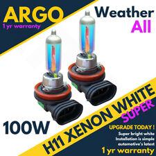 H11 Xénon Blanc 711 Tout Temps 100w Phare Halogène Brouillard Ampoules Auto 12v