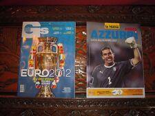 2 Riviste calcio GUIDE EUROPEI 2012 GS Guerin Sportivo con omaggi