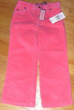 NWT Vineyard Vines 5-Pocket Corduroy Pants Pink 4T 14