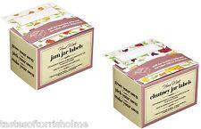 100 Kitchen Craft Homemade Jam, Chutney, Pickle & Preserve Jar & Bottle Labels